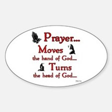 Prayer Moves Turns Decal