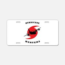 Cute Hunter Aluminum License Plate