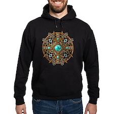 Beads and Arrows Mandala Hoody