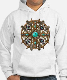 Beads and Arrows Mandala Hoodie