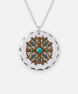 Beads and Arrows Mandala Necklace
