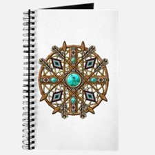 Beads and Arrows Mandala Journal