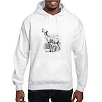 Deer Family Hooded Sweatshirt