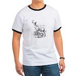 Deer Family Ringer T