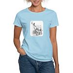 Deer Family Women's Light T-Shirt
