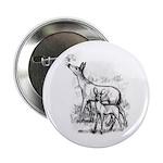 "Deer Family 2.25"" Button"