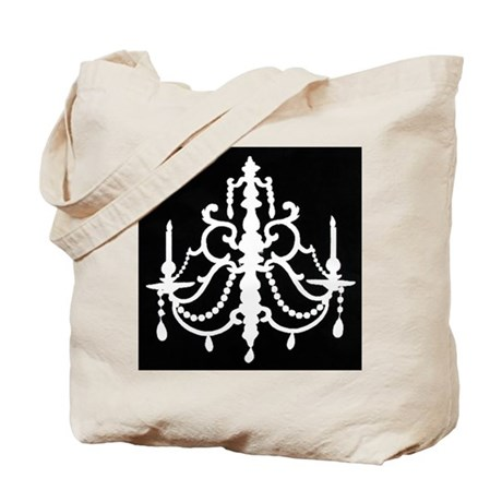 CHANDELIER SILHOUETTE Tote Bag