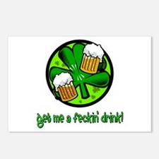 Feckin' Drink Postcards (Package of 8)