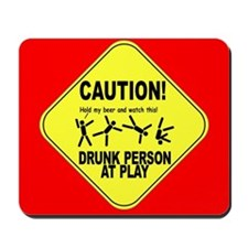 Drunk person at play mousepad!