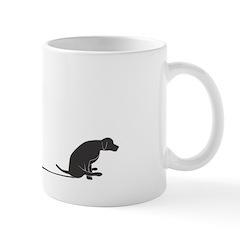 Mutt Shuffle Medium Mug