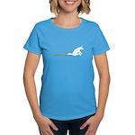 Unicorn Rainbow Shuffle Dark Women's T-Shirt