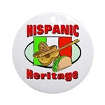 Hispanic Heritage Ornament (Round)