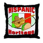 Hispanic Heritage Throw Pillow