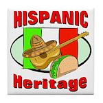 Hispanic Heritage Tile Coaster