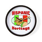 Hispanic Heritage Wall Clock