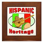 Hispanic Heritage Framed Tile