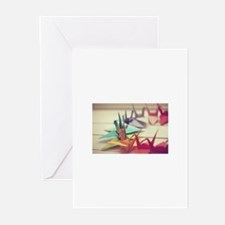 Paper Cranes *Origami Greeting Cards (Pk of 20)