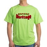 Hispanic Heritage Green T-Shirt