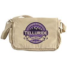 Telluride Purple Messenger Bag