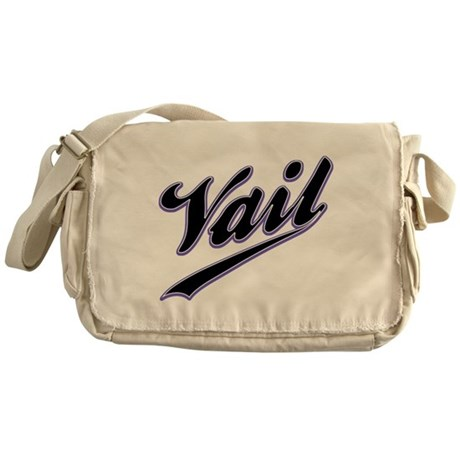 Vail Baseball Messenger Bag