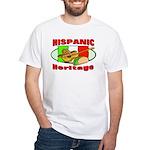 Hispanic Heritage White T-Shirt