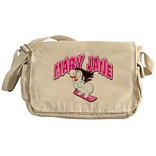 Mary Jane Snowgirl Messenger Bag