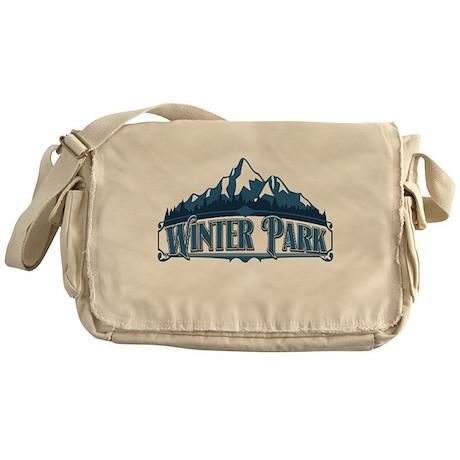 Winter Park Blue Mountain Messenger Bag