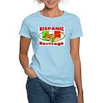 Hispanic Heritage Women's Pink T-Shirt