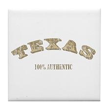 Texas 100% Authentic Tile Coaster