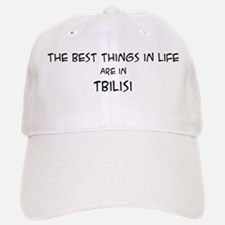 Best Things in Life: Tbilisi Baseball Baseball Cap