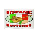 Hispanic Heritage Rectangle Magnet