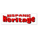 Hispanic Heritage Bumper Sticker
