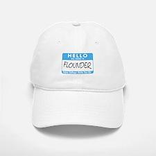 AH: Flounder Baseball Baseball Cap
