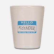 AH: Flounder Shot Glass