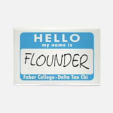 AH: Flounder Rectangle Magnet (10 pack)