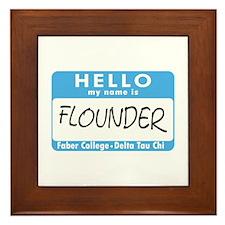 AH: Flounder Framed Tile