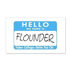 AH: Flounder 22x14 Wall Peel
