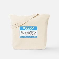 AH: Flounder Tote Bag