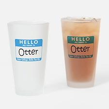 AH: Otter Drinking Glass