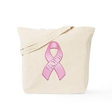 Pink Ribbon Hope Tote Bag