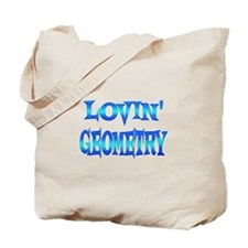 Geometry Love Tote Bag