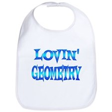 Geometry Love Bib