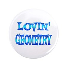 "Geometry Love 3.5"" Button"