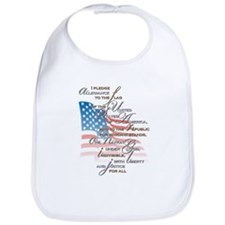 US Pledge - Bib