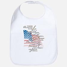 US Pledge - Bib