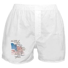 US Pledge - Boxer Shorts