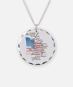 US Pledge - Necklace Circle Charm