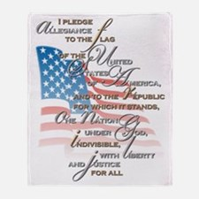 US Pledge - Throw Blanket