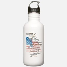US Pledge - Water Bottle