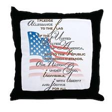 US Pledge - Throw Pillow